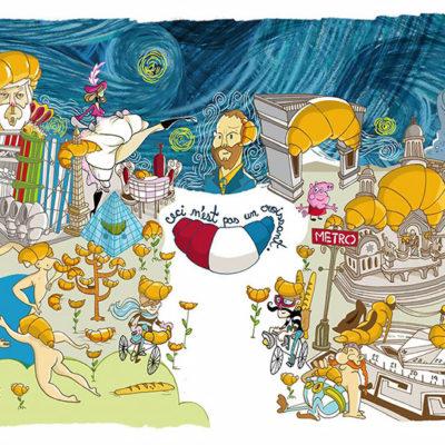 Ilustração Paris
