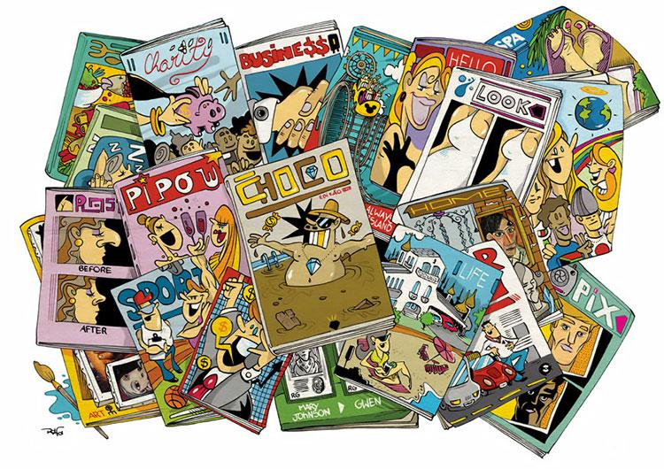 Ilustração Revistas